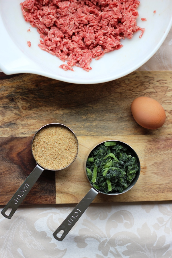 Italian kale meatball ingredients