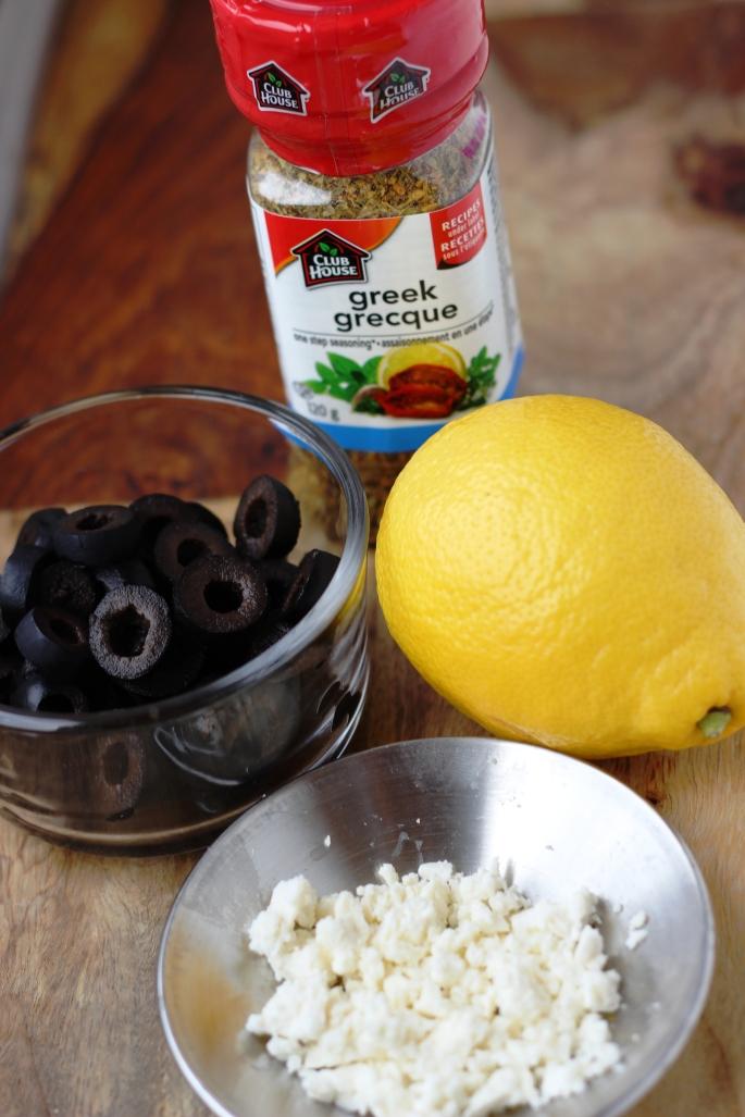 Lemony Lentil and Feta Salad