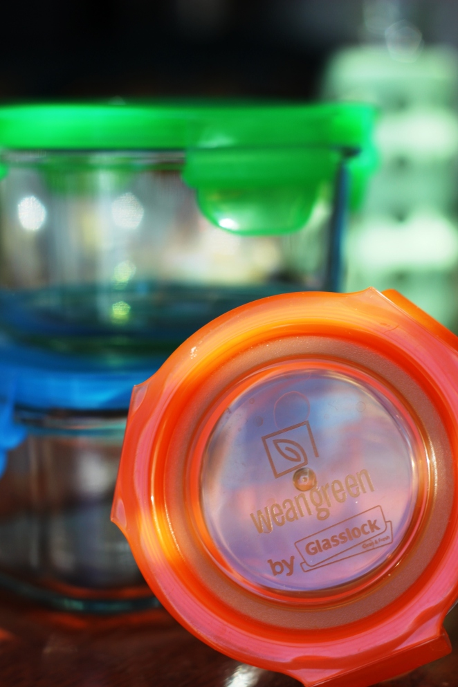 Product Review Wean Green Tempered Glass Food Containers